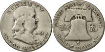 Us Coins - United States, Franklin Half Dollar, Half Dollar, 1951, U.S. Mint, Philadelphia