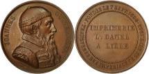 World Coins - France, Medal, Joannes Guttemberg, Imprimerie Danel à Lille, Gayrard