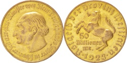 World Coins - Germany, 50000 Mark, 1923, , Bronze-Aluminium, 32.59