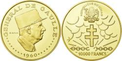 World Coins - Coin, Chad, 10000 Francs, 1960, , Gold, KM:11