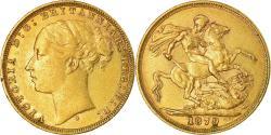 World Coins - Coin, Australia, Victoria, Sovereign, 1879, Sydney, , Gold, KM:7