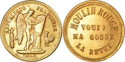 World Coins - France, Token, Moulin Rouge, La Revue Voui ma Gosse, Cartaux, , Brass