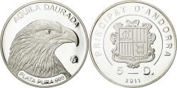 World Coins - Andorra, 5 Diners, 2011, , Silver
