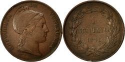 World Coins - Coin, Venezuela, Centavo, 1843, VF(20-25), Copper, KM:3.1