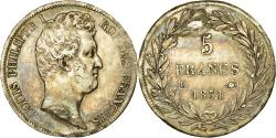 World Coins - Coin, France, Louis-Philippe, 5 Francs, 1831, Bayonne, , Silver