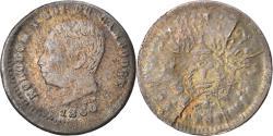 World Coins - Coin, Cambodia, Norodom I, 25 Centimes, 1860, , Silver, Lecompte:38