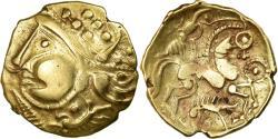 Ancient Coins - Coin, Aulerci Eburovices, Hemistater, , Electrum, Delestrée:2401