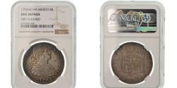 World Coins - Coin, Mexico, Charles IV, 8 Reales, 1792, Mexico City, NGC, UNC Details, Silver