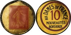World Coins - Coin, France, Aux Dames, Bordeaux, 10 Centimes, Timbre-Monnaie,