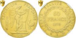Ancient Coins - Coin, France, Génie, 50 Francs, 1878, Paris, NGC, AU55, Gold, KM:831, graded