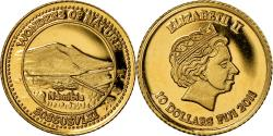 World Coins - Coin, Fiji, Elizabeth II, 10 Dollars, 2011, , Gold, KM:304