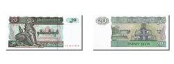 World Coins - Myanmar, 20 Kyats, KM #72, UNC(65-70), CQ3637300