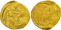 Coin, Phocas, Solidus, 602-610, Constantinople, AU(50-53), Gold, Sear:620