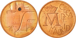 World Coins - Spain, Token, Spain, Ceca de Madrid, 1987, , Copper