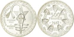 World Coins - Coin, West African States, 500 Francs, 1972, Paris, Prooflike, , Silver