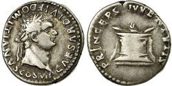 Ancient Coins - Coin, Domitia, Denarius, AU(50-53), Silver, Cohen:397