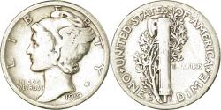 Us Coins - Coin, United States, Mercury Dime, Dime, 1919, U.S. Mint, Philadelphia