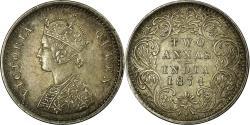 World Coins - Coin, INDIA-BRITISH, Victoria, 2 Annas, 1874, Bombay, , Silver, KM:469