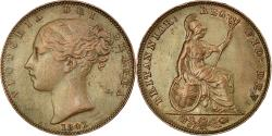 World Coins - Coin, Great Britain, Victoria, Farthing, 1841, , Copper, KM:725