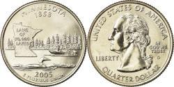 Us Coins - Coin, United States, Minnesota, Quarter, 2005, U.S. Mint, Denver,