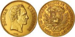 World Coins - Coin, Venezuela, 100 Bolivares, 1887, Caracas, , Gold, KM:34