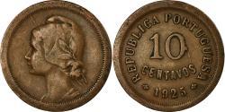 World Coins - Coin, Portugal, 10 Centavos, 1925, , Bronze, KM:573