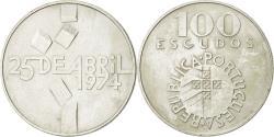 World Coins - Portugal, 100 Escudos, 1976, Lisbon, , Silver, KM:603