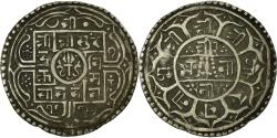 Ancient Coins - Coin, Nepal, SHAH DYNASTY, Surendra Vikrama, Mohar, 1854 (1776 SE),