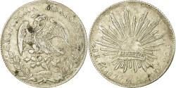 World Coins - Coin, Mexico, 8 Reales, 1877, Mexico City, , Silver, KM:377.10