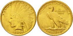 Us Coins - Coin, United States, Indian Head, $10, 1907, Philadelphia, ,Gold,KM 125