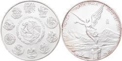 World Coins - Coin, Mexico, Libertad, Onza, Troy Ounce of Silver, 2012, Bullion,