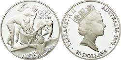 World Coins - Coin, Australia, Elizabeth II, 20 Dollars, 1993, , Silver, KM:219