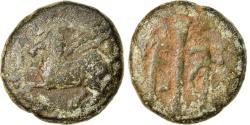 Ancient Coins - Coin, Akarnania, Leucas, Bronze Æ, 300-200 BC, Rare, , Silver