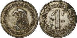 World Coins - Coin, Madagascar, Société des Mines d'Or, Andavakoëra, 1 Franc,