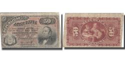 World Coins - Banknote, Argentina, 50 Centavos, 1883, 1883-10-04, KM:8, VF(20-25)