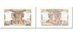 World Coins - France, 5000 Francs, Terre et Mer, 1951, 1951-08-16, EF(40-45), Fayette:48.05