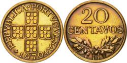 World Coins - Coin, Portugal, 20 Centavos, 1970, , Bronze, KM:595