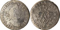 World Coins - Coin, France, Louis XIV, 4 Sols aux 2 L, 1692, Amiens, , Silver