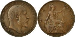 World Coins - Coin, Great Britain, Edward VII, Penny, 1907, , Bronze, KM:794.2