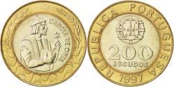 World Coins - Portugal, 200 Escudos, 1997, , Bi-Metallic, KM:655
