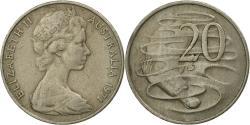 World Coins - Coin, Australia, Elizabeth II, 20 Cents, 1971, , Copper-nickel, KM:66