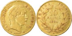World Coins - Coin, France, Napoleon III, 10 Francs, 1864, Paris, , Gold, KM 800.1