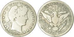 Us Coins - Coin, United States, Barber Quarter, Quarter, 1904, U.S. Mint, New Orleans