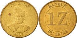 World Coins - Coin, Zaire, Zaire, 1987, , Brass, KM:13