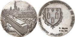 World Coins - France, Medal, C.H.U de Rouen, Medicine, 1988, A. Guzman, , Silvered