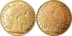 World Coins - Coin, France, Marianne, 10 Francs, 1907, Paris, , Gold, KM:846