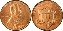 Us Coins - Coin, United States, Cent, 2014, Philadelphia, , Brass