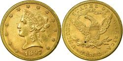 Us Coins - Coin, United States, Coronet Head, $10, Eagle, 1897, Philadelphia,