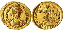 Ancient Coins - Coin, Theodosius II, Solidus, Thessalonica, , Gold, RIC:366