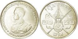 World Coins - Coin, Thailand, Rama IX, 20 Baht, 1963, , Silver, KM:86